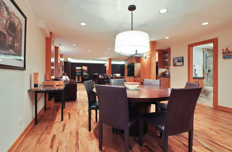 Real Estate Photography - 2223 Thistle, Glenview, IL, 60026 - Lower Level