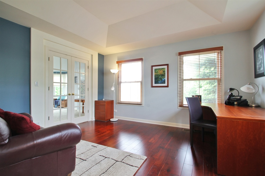Real Estate Photography - 2223 Thistle, Glenview, IL, 60026 - Masterbed Room Sitting Room