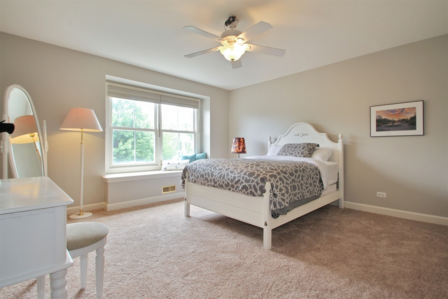 Real Estate Photography - 2223 Thistle, Glenview, IL, 60026 - 4th Bedroom