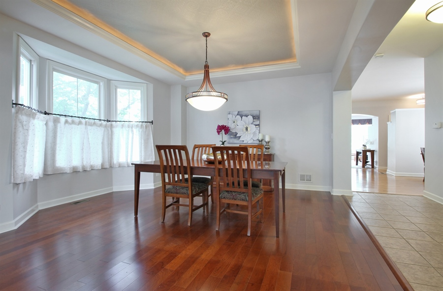 Real Estate Photography - 2223 Thistle, Glenview, IL, 60026 - Dining Room