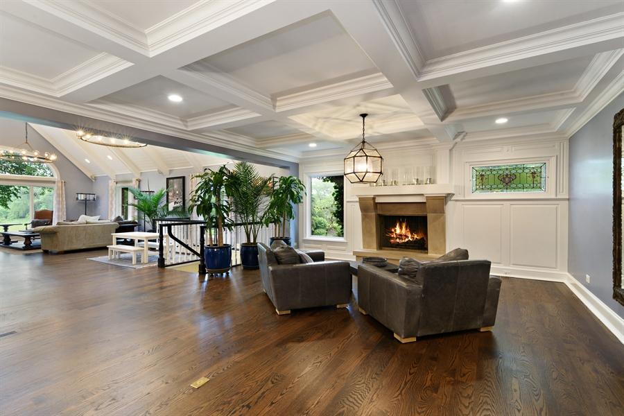 Real Estate Photography - 63 Brinker Rd, Barrington Hills, IL, 60010 - Sitting Room