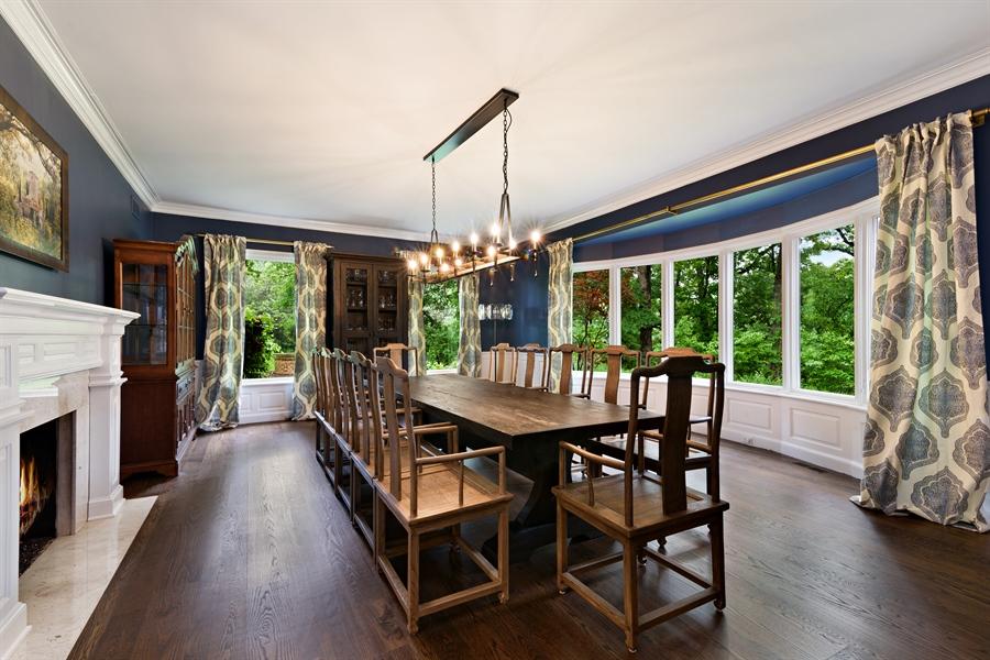 Real Estate Photography - 63 Brinker Rd, Barrington Hills, IL, 60010 - Dining Room