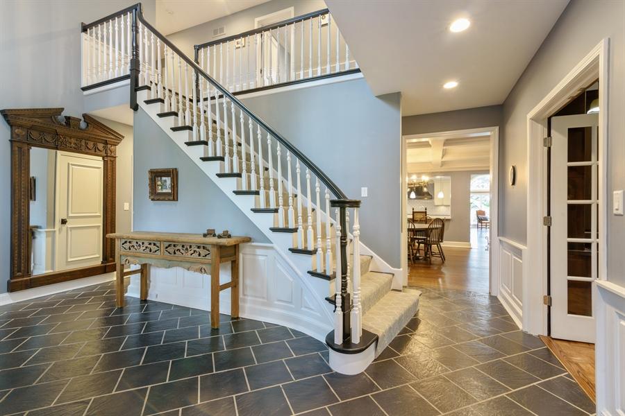 Real Estate Photography - 63 Brinker Rd, Barrington Hills, IL, 60010 - Foyer