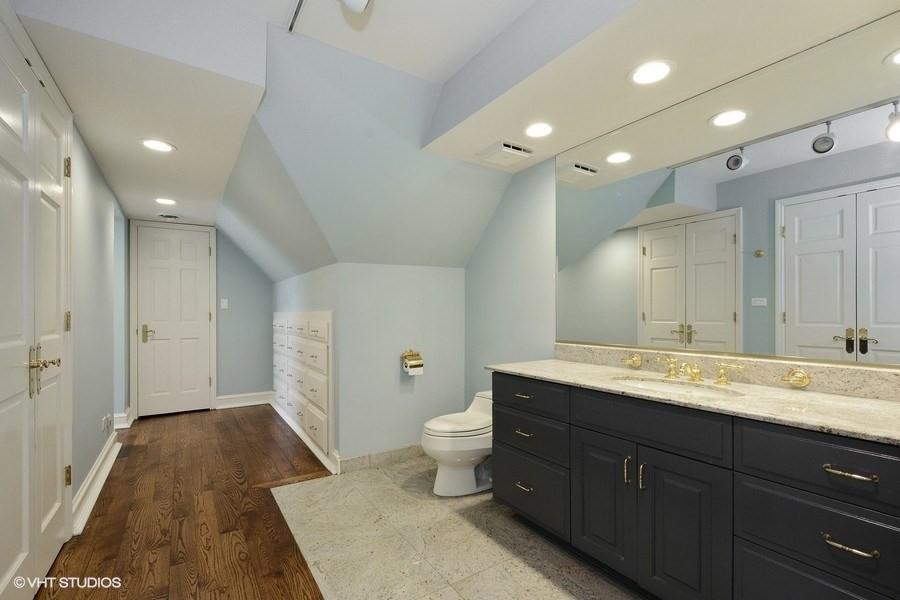 Real Estate Photography - 63 Brinker Rd, Barrington Hills, IL, 60010 - Master Bathroom