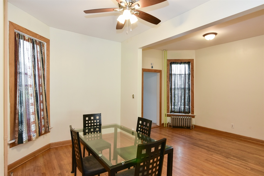 Real Estate Photography - 3227 W Fulton Blvd, Chicago, IL, 60624 - Dining Room