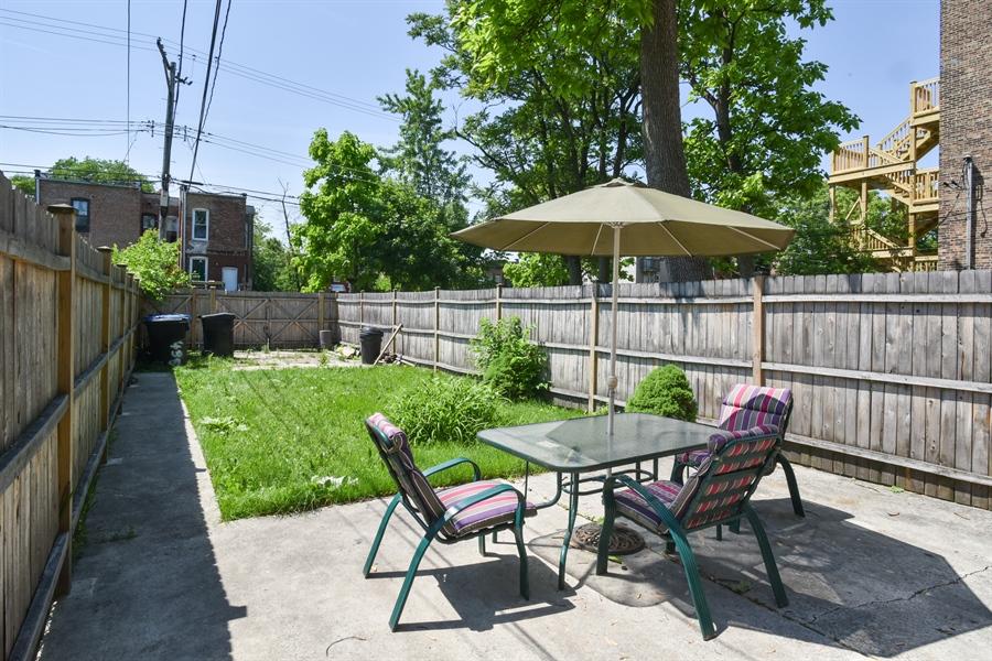 Real Estate Photography - 3227 W Fulton Blvd, Chicago, IL, 60624 - Back Yard