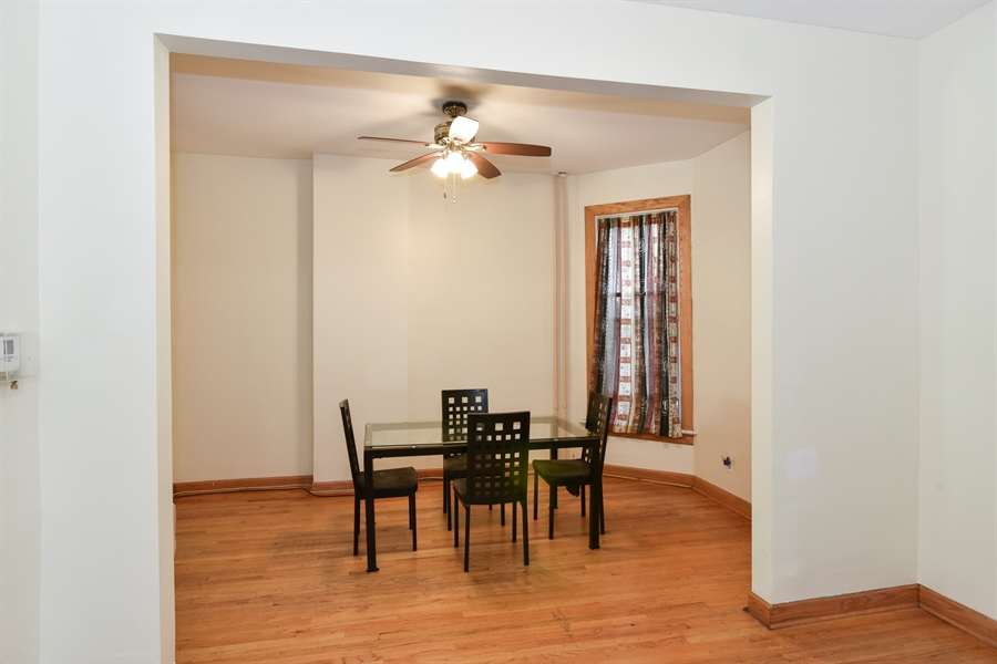 Real Estate Photography - 3227 W Fulton Blvd, Chicago, IL, 60624 - Dining Area