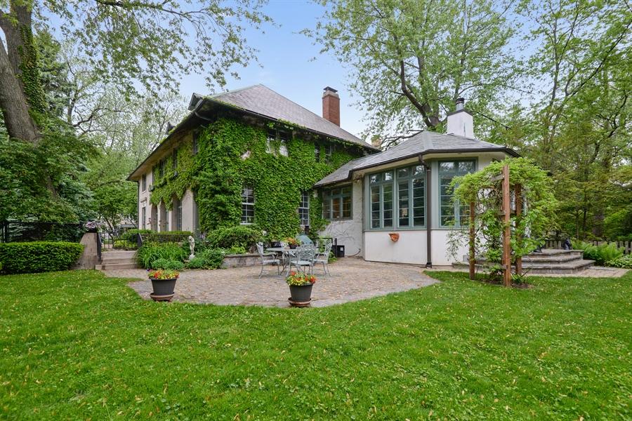 Real Estate Photography - 2233 Orrington, Evanston, IL, 60201 - Rear View