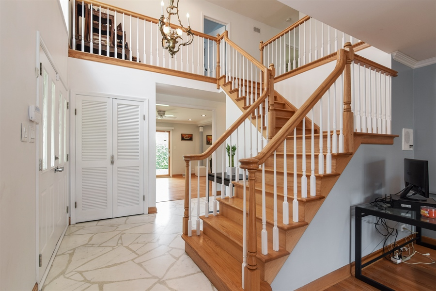 Real Estate Photography - 6902 Lockwood, Skokie, IL, 60077 - Foyer