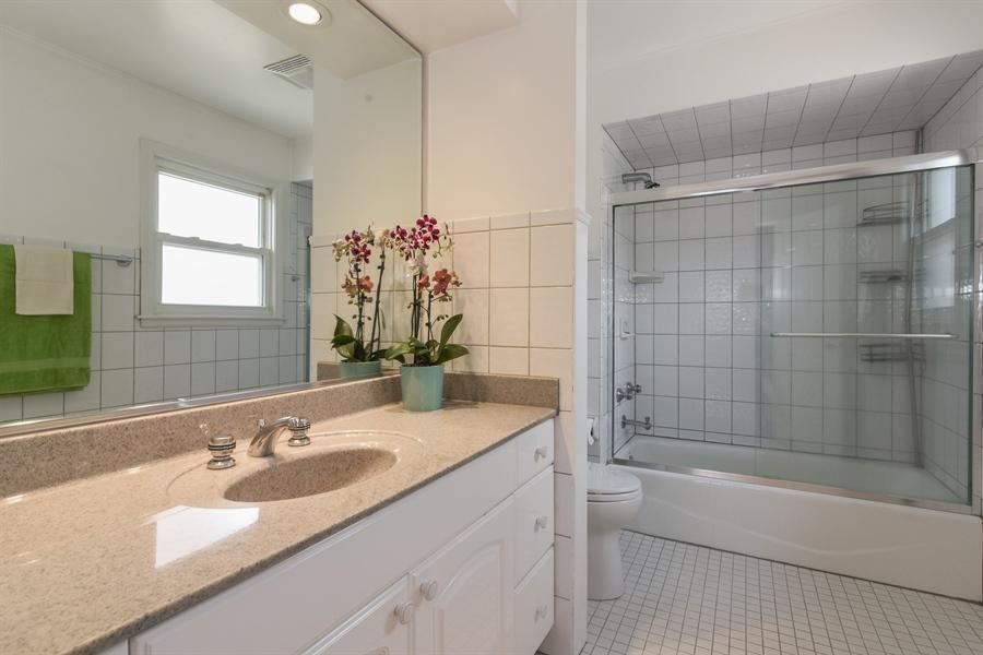 Real Estate Photography - 6902 Lockwood, Skokie, IL, 60077 - 2nd Bathroom
