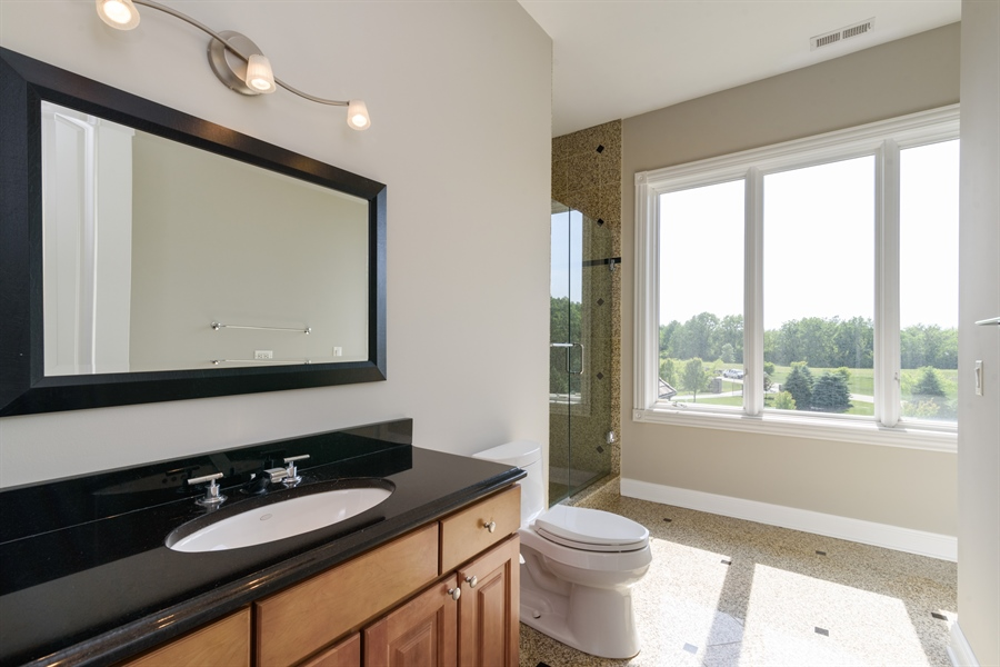 Real Estate Photography - 8 Jennifer Ct, Barrington Hills, IL, 60010 - Jack 'n Jill Bath