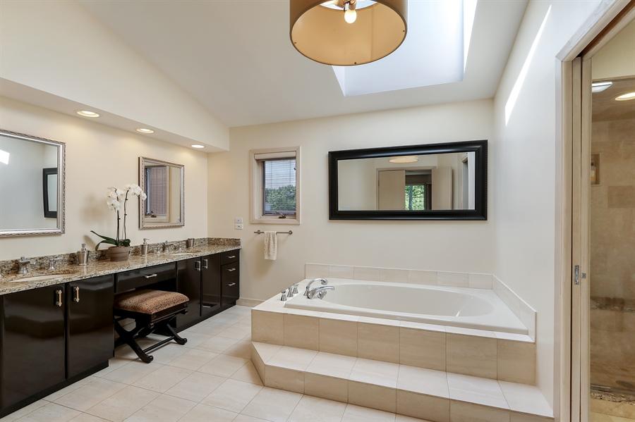 Real Estate Photography - 3041 Cyprus Court, Buffalo Grove, IL, 60089 - Master Bathroom