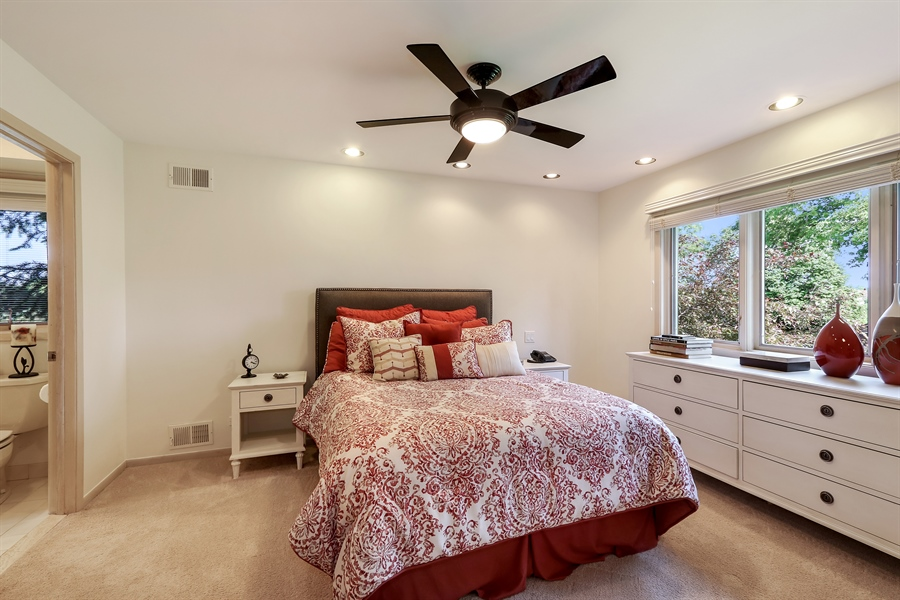 Real Estate Photography - 3041 Cyprus Court, Buffalo Grove, IL, 60089 - 2nd Bedroom