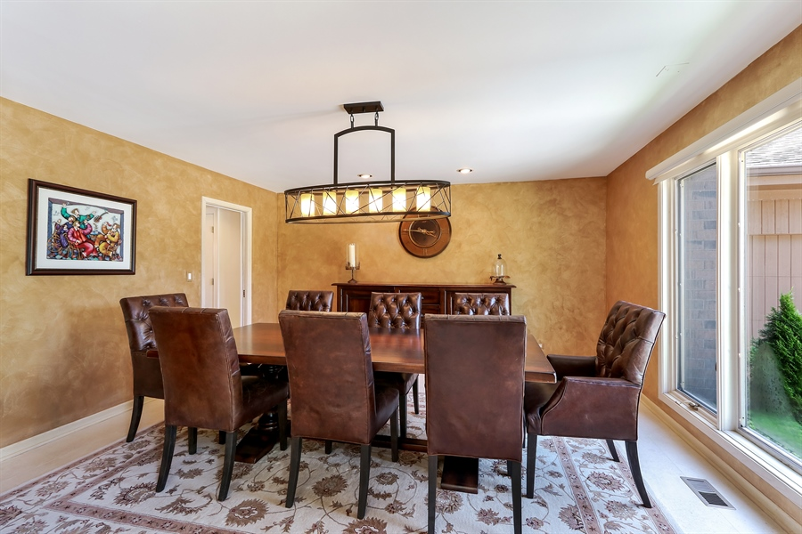 Real Estate Photography - 3041 Cyprus Court, Buffalo Grove, IL, 60089 - Dining Room