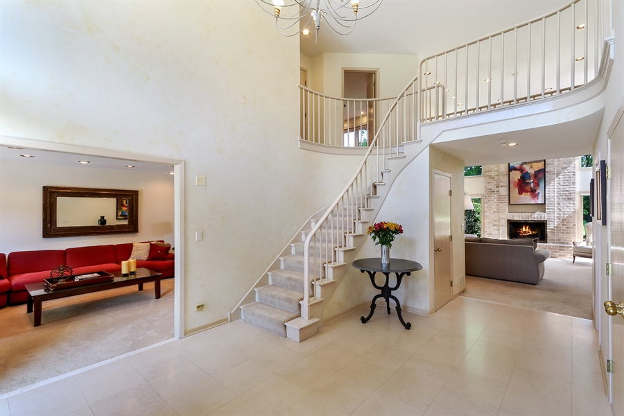 Real Estate Photography - 3041 Cyprus Court, Buffalo Grove, IL, 60089 - Foyer