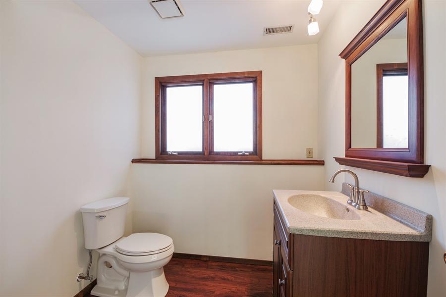 Real Estate Photography - 635 Penn Blvd, Lindenhurst, IL, 60046 - Powder Room