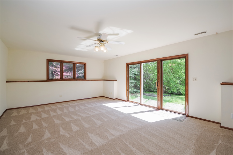 Real Estate Photography - 635 Penn Blvd, Lindenhurst, IL, 60046 - Family Room