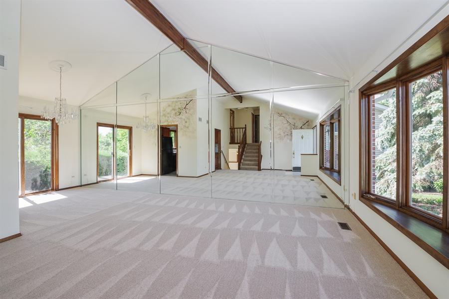 Real Estate Photography - 635 Penn Blvd, Lindenhurst, IL, 60046 - Living Room / Dining Room