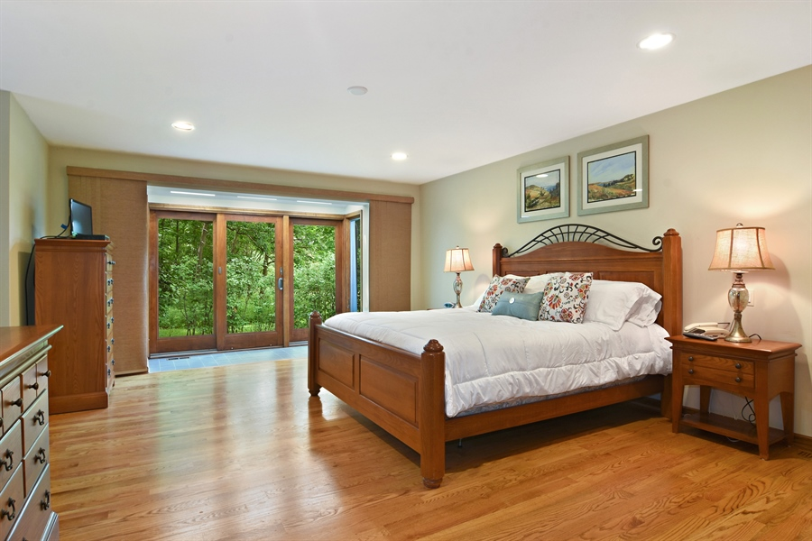 Real Estate Photography - 4509 N Krueger, Long Grove, IL, 60047 - Master Bedroom
