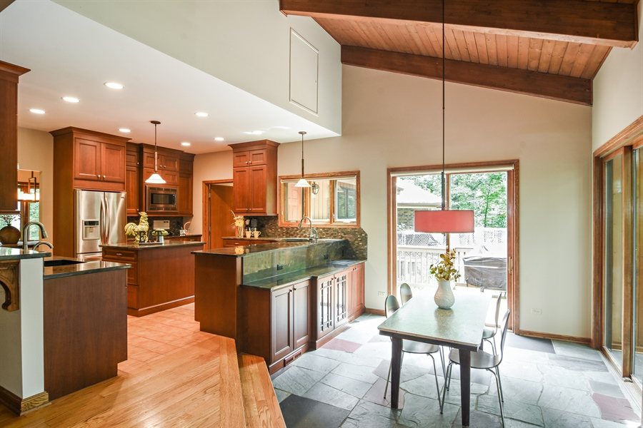 Real Estate Photography - 4509 N Krueger, Long Grove, IL, 60047 - Kitchen / Breakfast Room