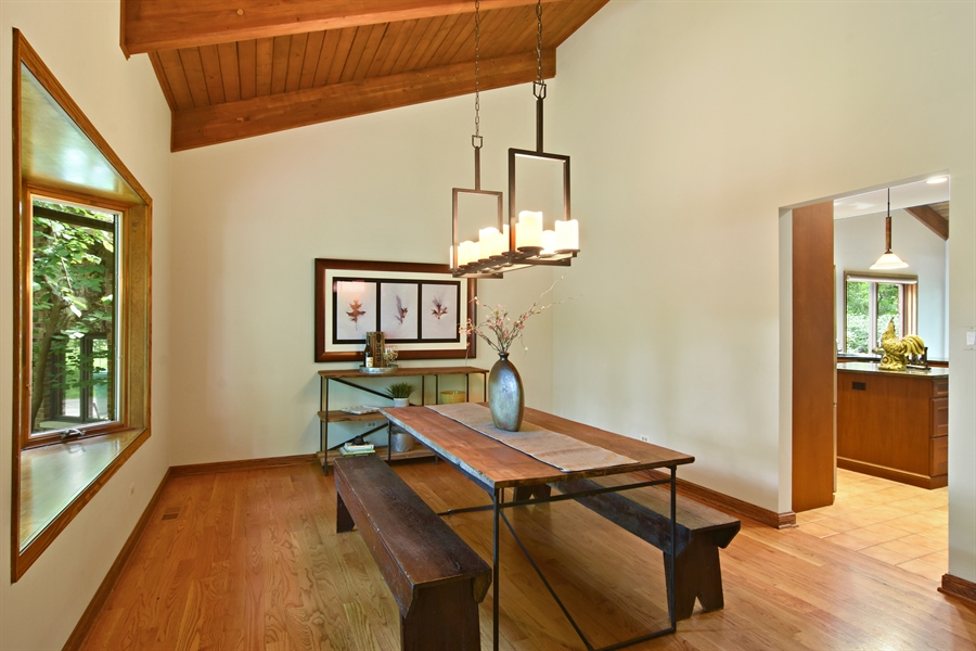 Real Estate Photography - 4509 N Krueger, Long Grove, IL, 60047 - Dining Room