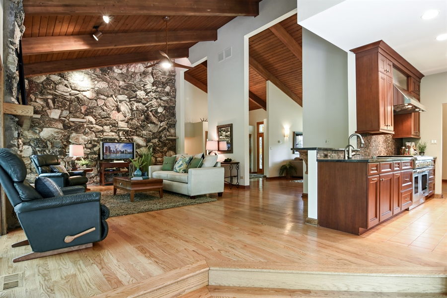 Real Estate Photography - 4509 N Krueger, Long Grove, IL, 60047 - Great Room