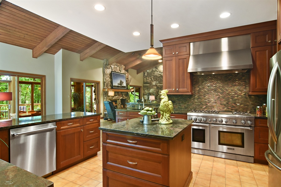 Real Estate Photography - 4509 N Krueger, Long Grove, IL, 60047 - Kitchen