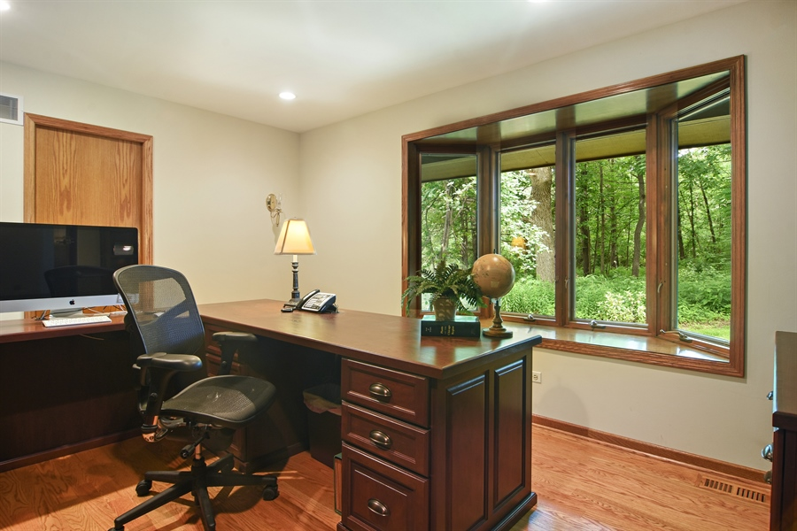 Real Estate Photography - 4509 N Krueger, Long Grove, IL, 60047 - 3rd Bedroom/Office