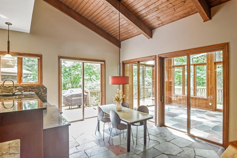 Real Estate Photography - 4509 N Krueger, Long Grove, IL, 60047 - Breakfast Nook