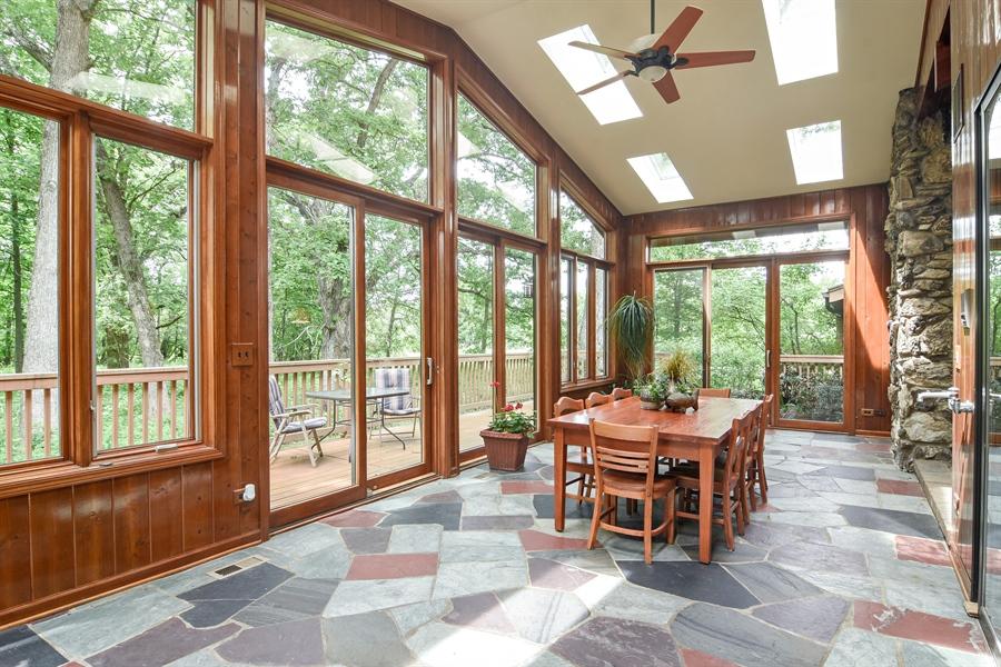 Real Estate Photography - 4509 N Krueger, Long Grove, IL, 60047 - Sun Room