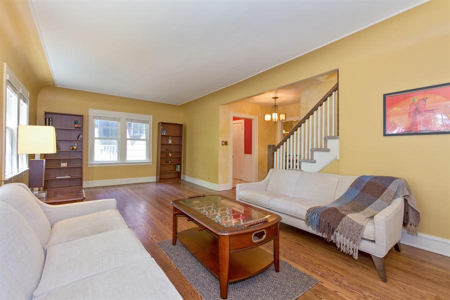 Real Estate Photography - 2111 Ridge Ave, Evanston, IL, 60201 - Living Room