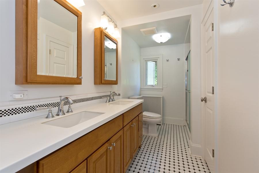 Real Estate Photography - 2111 Ridge Ave, Evanston, IL, 60201 - Master Bathroom