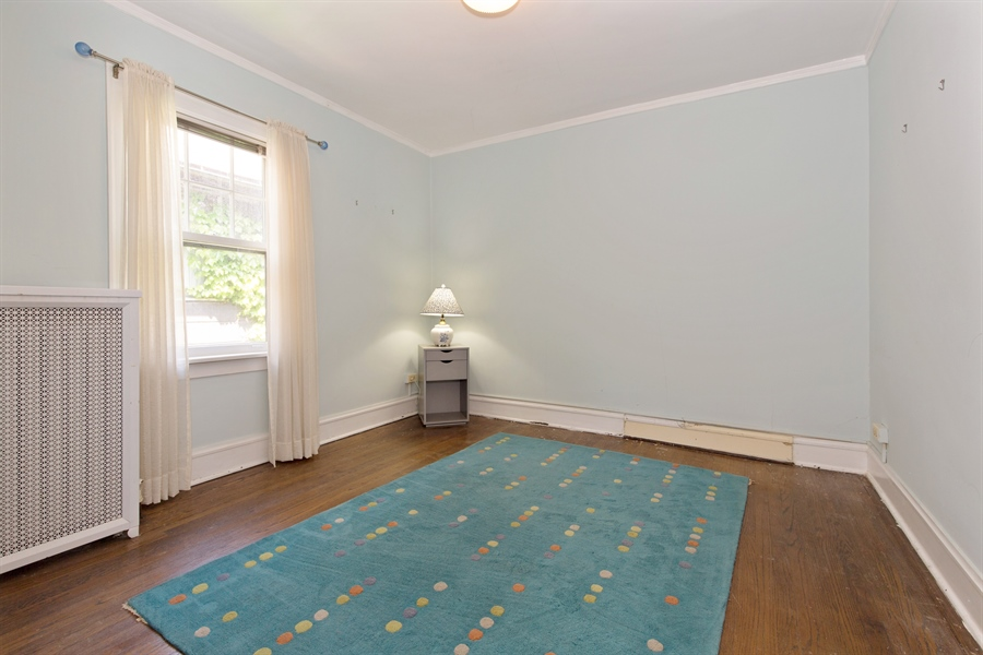 Real Estate Photography - 2111 Ridge Ave, Evanston, IL, 60201 - 2nd Bedroom