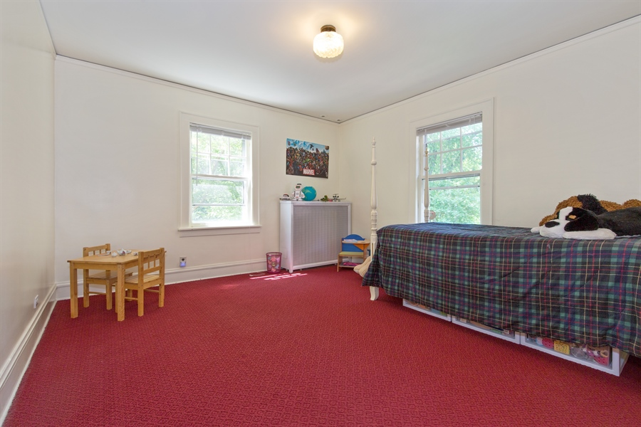 Real Estate Photography - 2111 Ridge Ave, Evanston, IL, 60201 - 3rd Bedroom