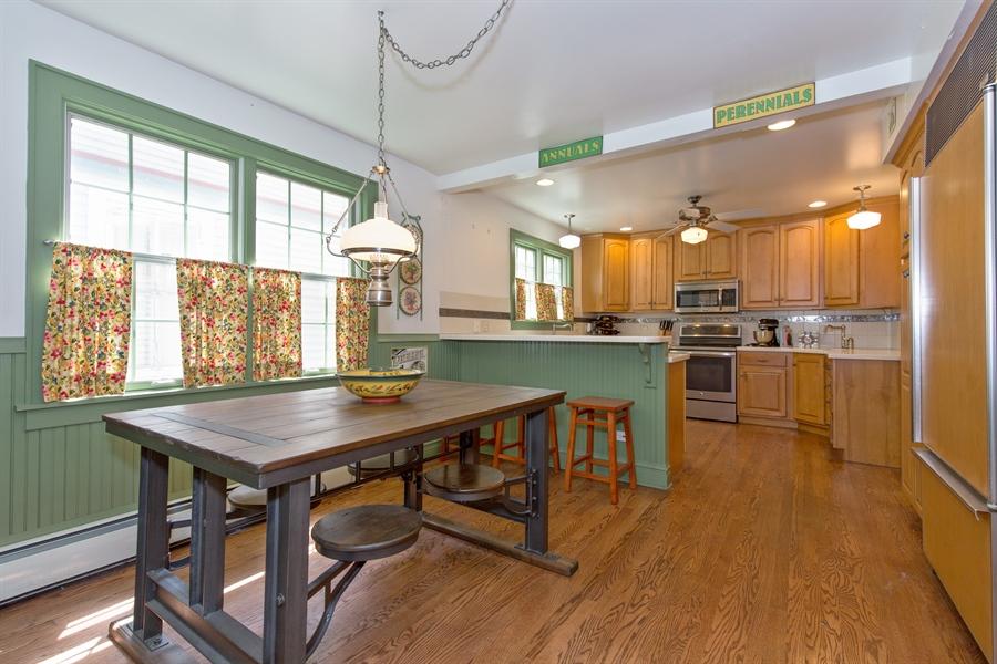 Real Estate Photography - 2111 Ridge Ave, Evanston, IL, 60201 - Kitchen / Breakfast Room