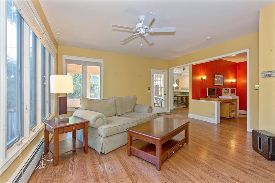 Real Estate Photography - 2111 Ridge Ave, Evanston, IL, 60201 - Family Room