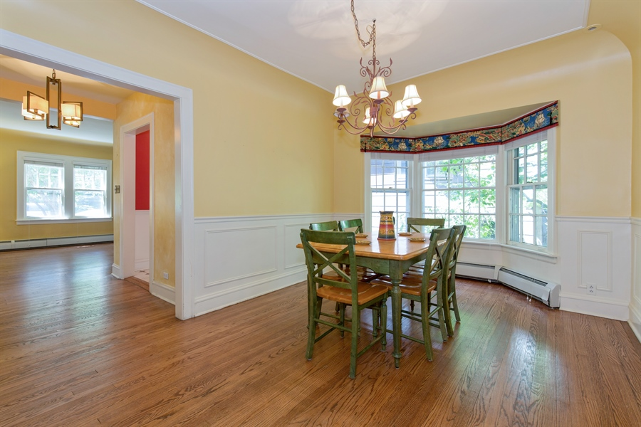 Real Estate Photography - 2111 Ridge Ave, Evanston, IL, 60201 - Dining Room
