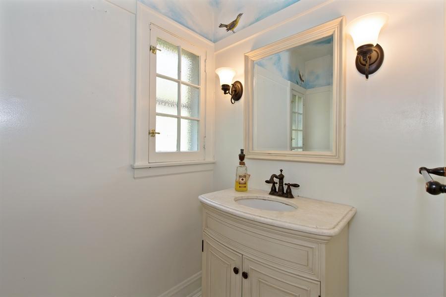 Real Estate Photography - 2111 Ridge Ave, Evanston, IL, 60201 - Half Bath