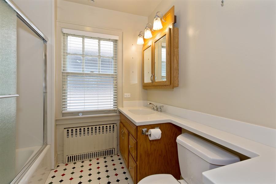 Real Estate Photography - 2111 Ridge Ave, Evanston, IL, 60201 - Bathroom