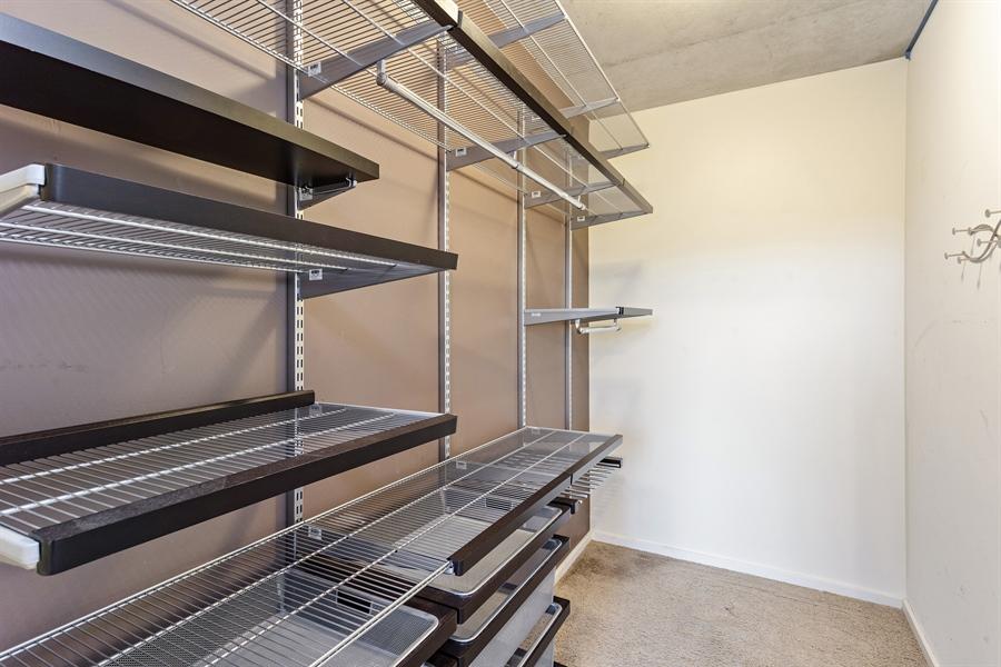 Real Estate Photography - 659 W Randolph St, Unit 410, Chicago, IL, 60661 - Closet