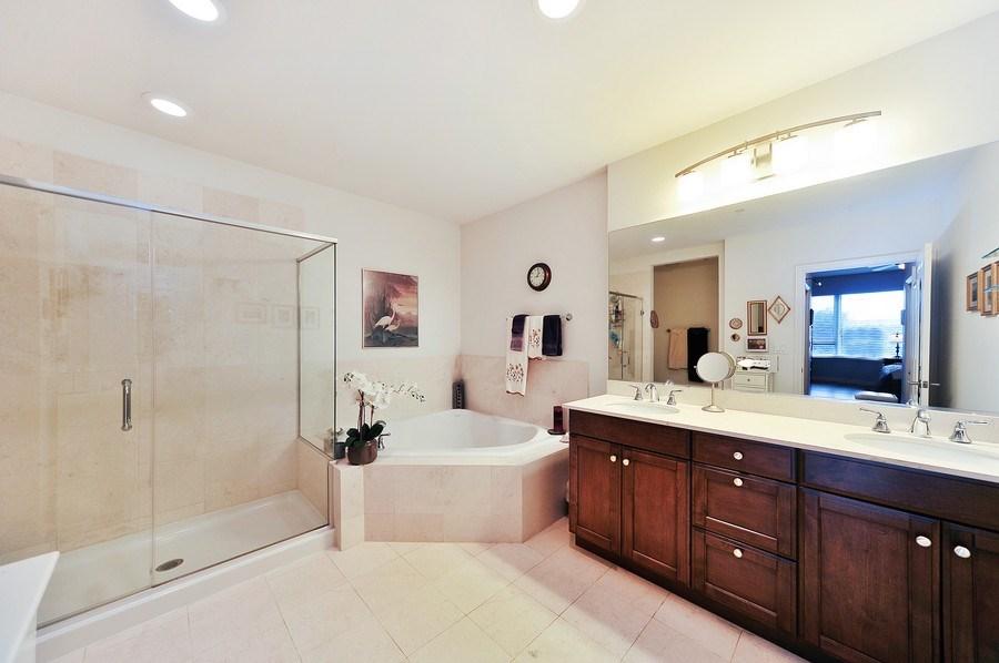 Real Estate Photography - 1000 Village Center Dr, Burr Ridge, IL, 60527 - Master Bathroom