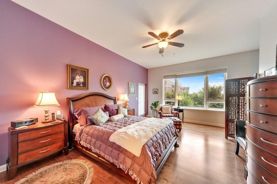 Real Estate Photography - 1000 Village Center Dr, Burr Ridge, IL, 60527 - Master Bedroom