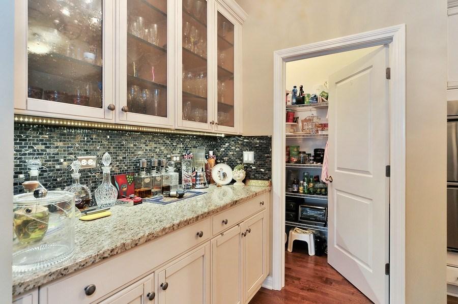 Real Estate Photography - 1000 Village Center Dr, Burr Ridge, IL, 60527 - Butler's pantry
