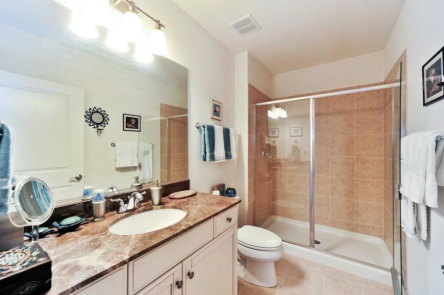 Real Estate Photography - 1000 Village Center Dr, Burr Ridge, IL, 60527 - 2nd Bathroom