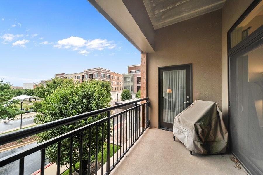 Real Estate Photography - 1000 Village Center Dr, Burr Ridge, IL, 60527 - Balcony