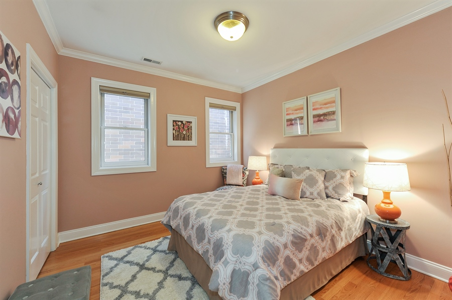 Real Estate Photography - 3927 N. Greenview, 4S, Chicago, IL, 60613 - Second Bedroom