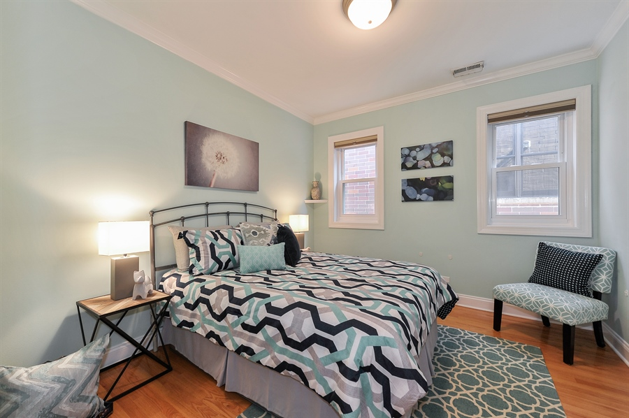 Real Estate Photography - 3927 N. Greenview, 4S, Chicago, IL, 60613 - Third Bedroom