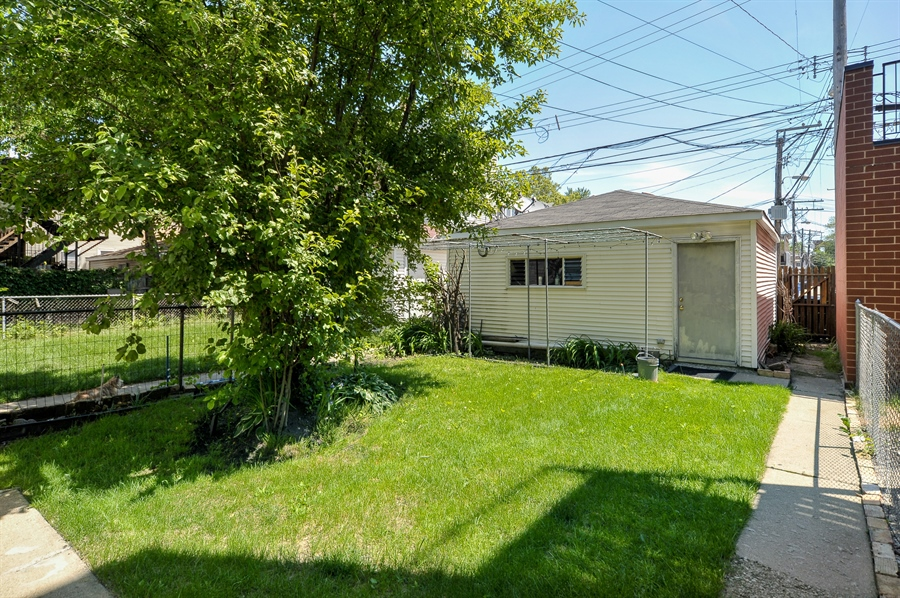 Real Estate Photography - 3747 N Damen Ave, Chicago, IL, 60618 - Back Yard