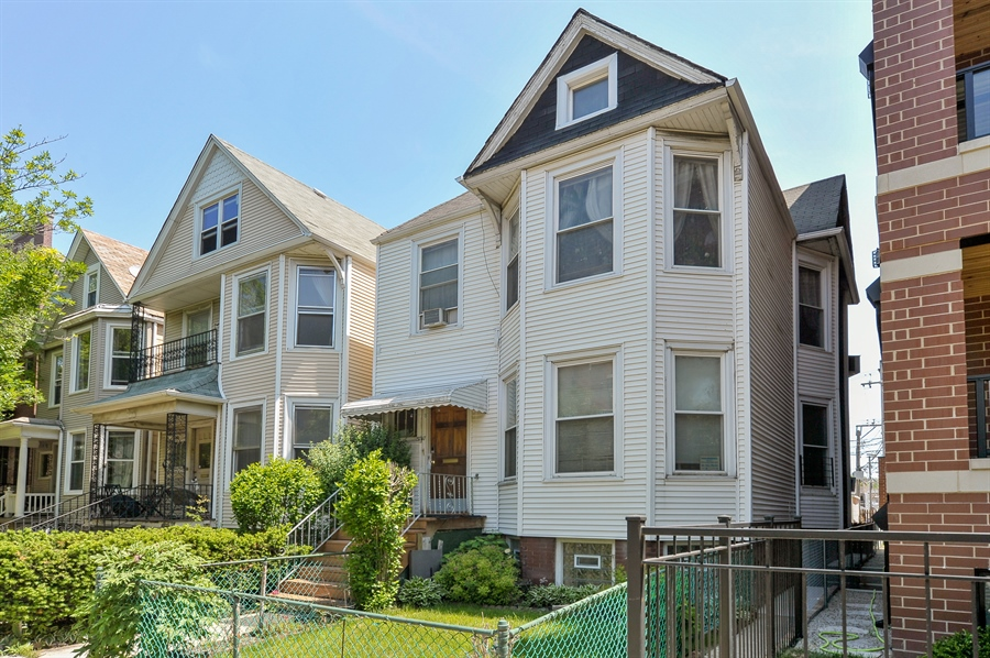 Real Estate Photography - 3747 N Damen Ave, Chicago, IL, 60618 - Front View