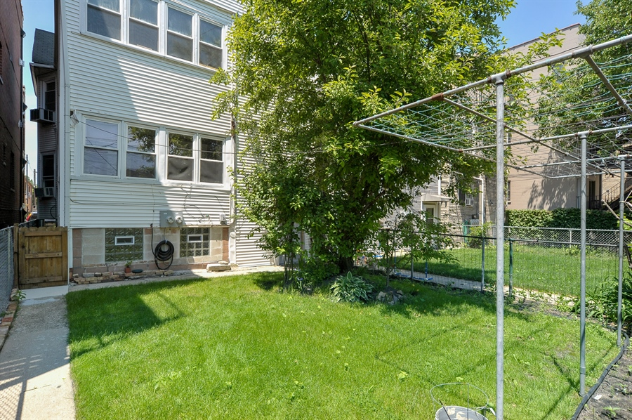 Real Estate Photography - 3747 N Damen Ave, Chicago, IL, 60618 - Rear View